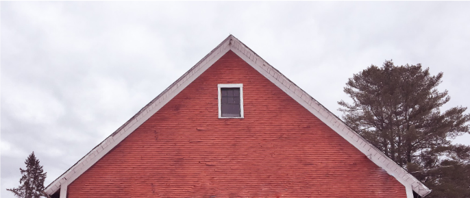 Image of a red barn